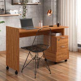 Office Alessa M1 Amêndoa