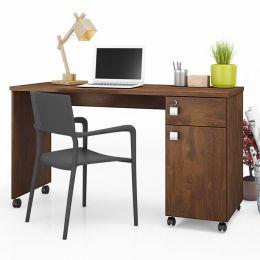 Mesa Escrivaninha com Gaveta Canela Office Malta