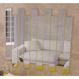 Painel de Espelhos Amarelo Brilho 4055 - JB Bechara