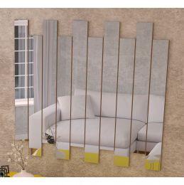 Painel de Espelhos Canela Madeirado 4055 - JB Bechara