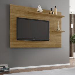 Painel para tv até 55'' Onix Cinamomo - Móveis Bechara