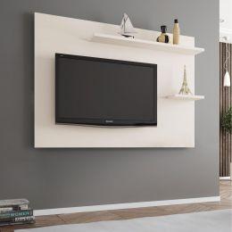 Painel para tv até 55'' Onix Off White - Móveis Bechara