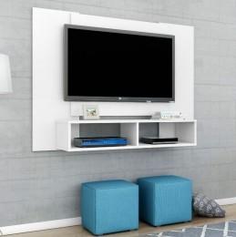 Painel para tv de até 47'' Navi Branco - Móveis Bechara