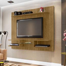 Painel para tv de até 55'' Atlas Cinamomo - Móveis Bechara