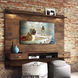 Painel Para Tv Até 55 Polegadas Canela Vênus New