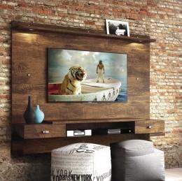 Painel para tv até 55'' Canela Vênus New