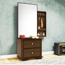 Penteadeira com espelho Luxo Canela Madeirado 7778 - JB Bechara