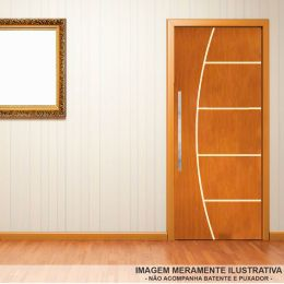 Porta Mogno 70 cm Frisada Cod 60