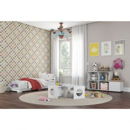 Quarto Completo Montessoriano 100% MDF Wood