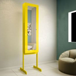 Toucador com espelho Amarelo Brilho 7100 - JB Bechara