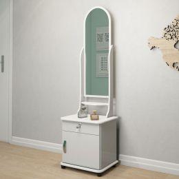 Toucador com espelho e gaveta Branco Brilho 7000 - JB Bechara
