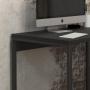 Escrivaninha Stell 0.85 Preto Fosco