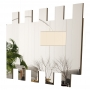 Painel Espelhado Decorativo 4055 Canela