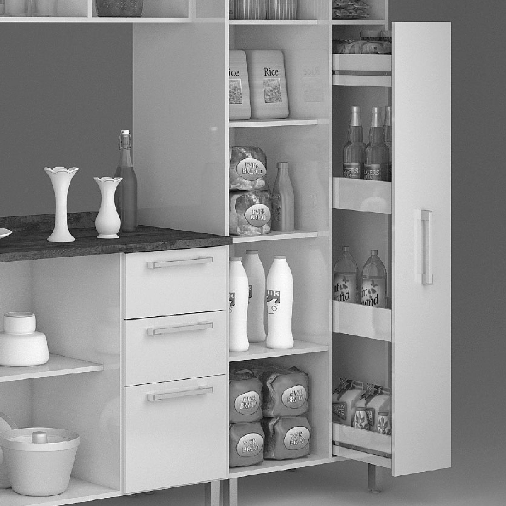 Armário para Cozinha 10 Portas Ravena