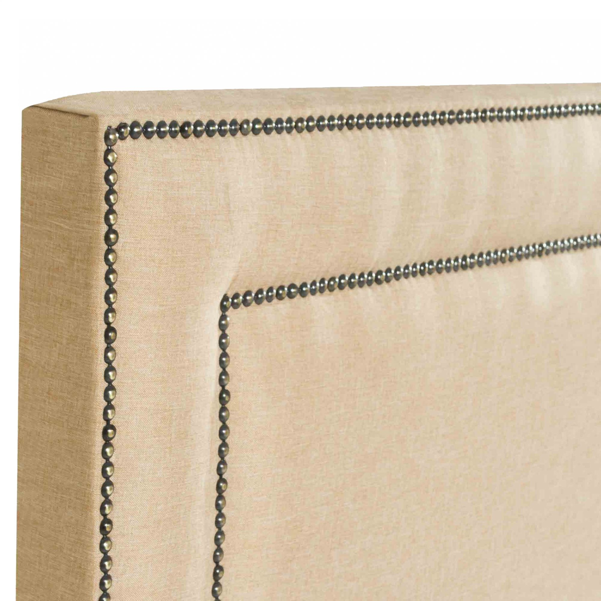 Cabeceira Box King Madri 1.95 Linho Mostarda - R.A Estofados