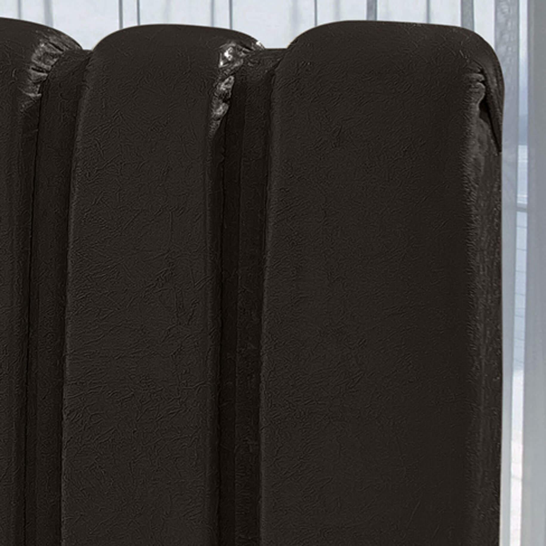 Cabeceira Box Queen com Recamier Siena 1.6 Suede Marrom - R.A Estofados
