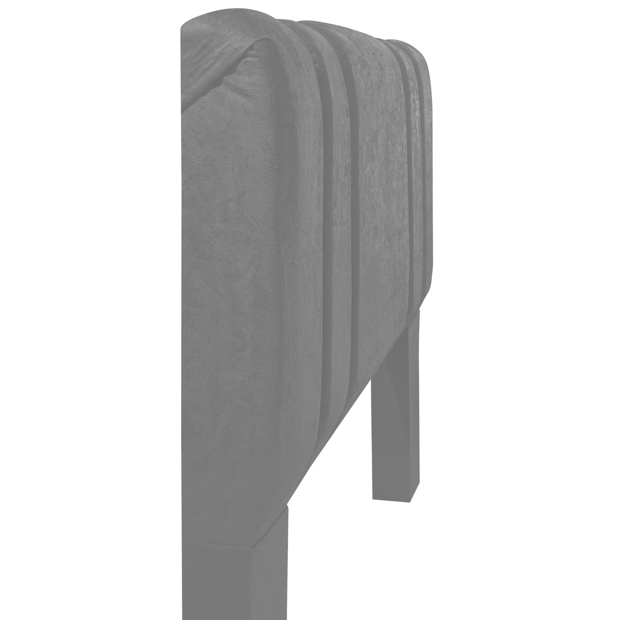Cabeceira Box Solteiro Siena 0.90 Suede Marrom - R.A Estofados