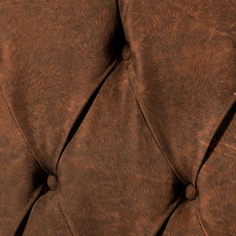 Cabeceira Intense Casal 1.4 Corino Marrom - LH Móveis