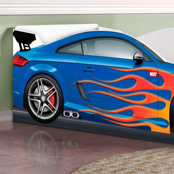 Cama Carro Azul - Luke Móveis