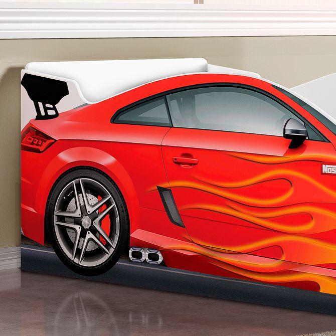 Cama Carro Vermelha - Luke Móveis