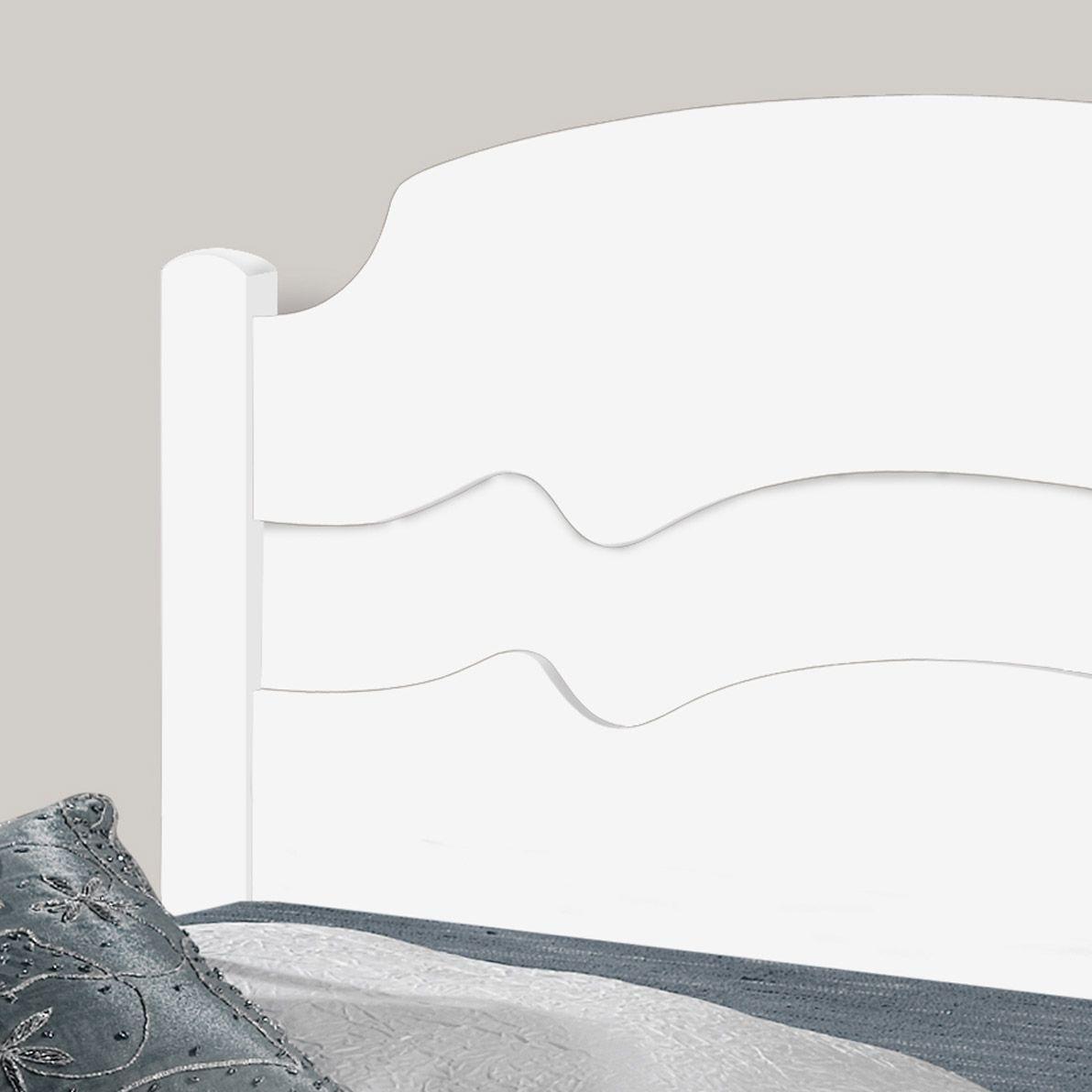 Cama Casal Iris Branco