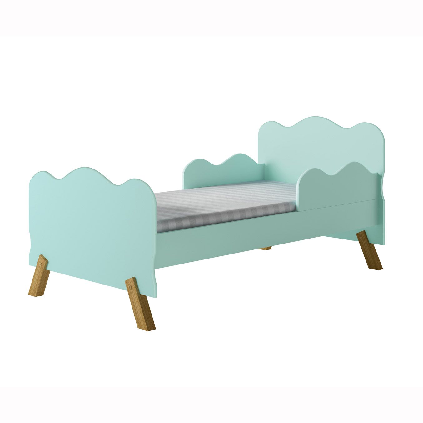 Mini Cama Infantil Angel Menta