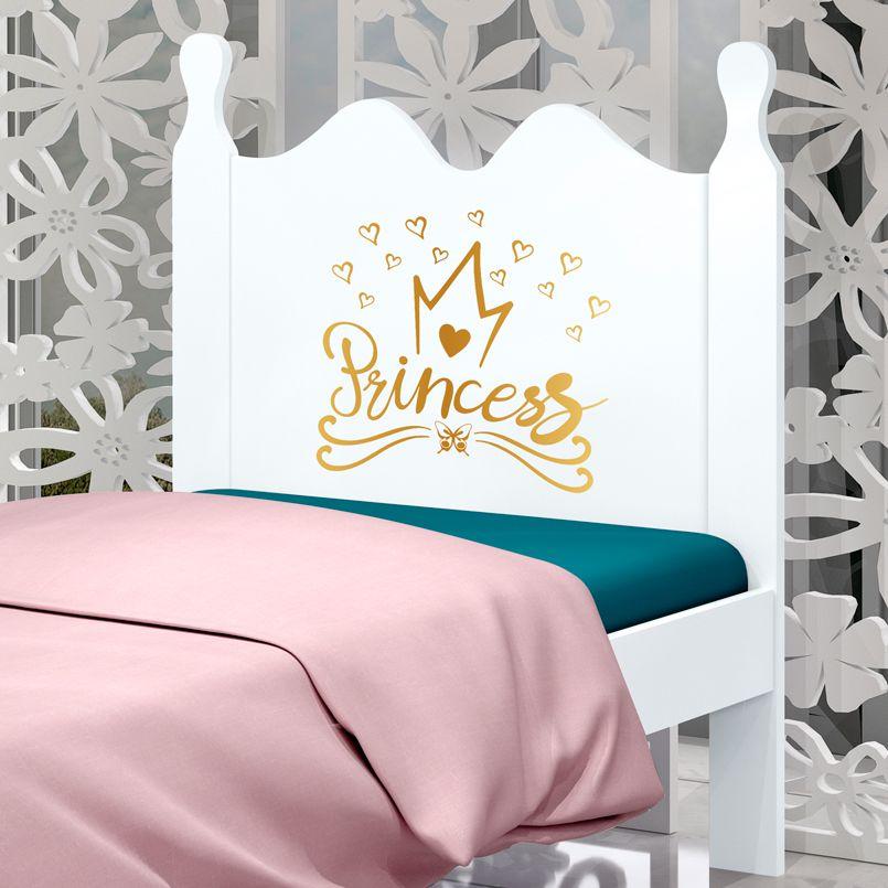 Cama Solteiro Princess Alice - Luke Móveis