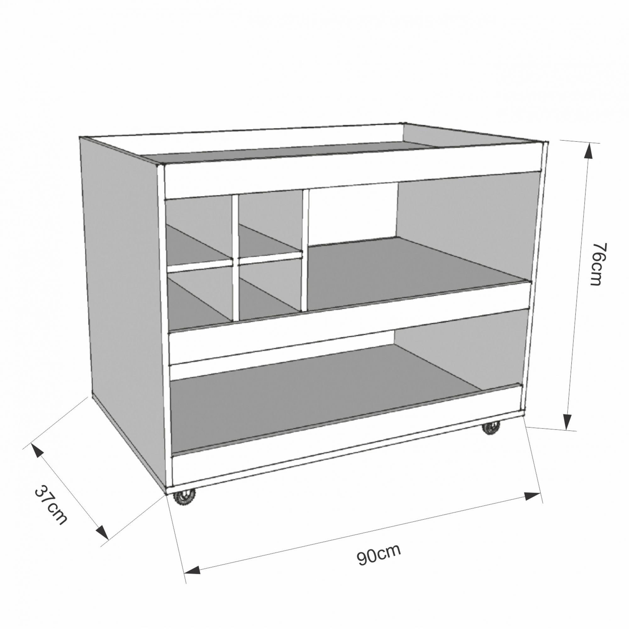 Conjunto Aparador Bar e Painel de Tv Caramelo 4050-5019 - JB Bechara