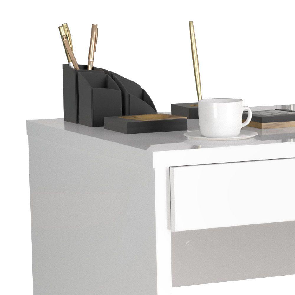 Escrivaninha 2 Gavetas 6080 Branco