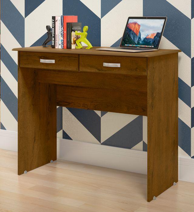 Escrivaninha 2 Gavetas Malbec -  EJ Móveis