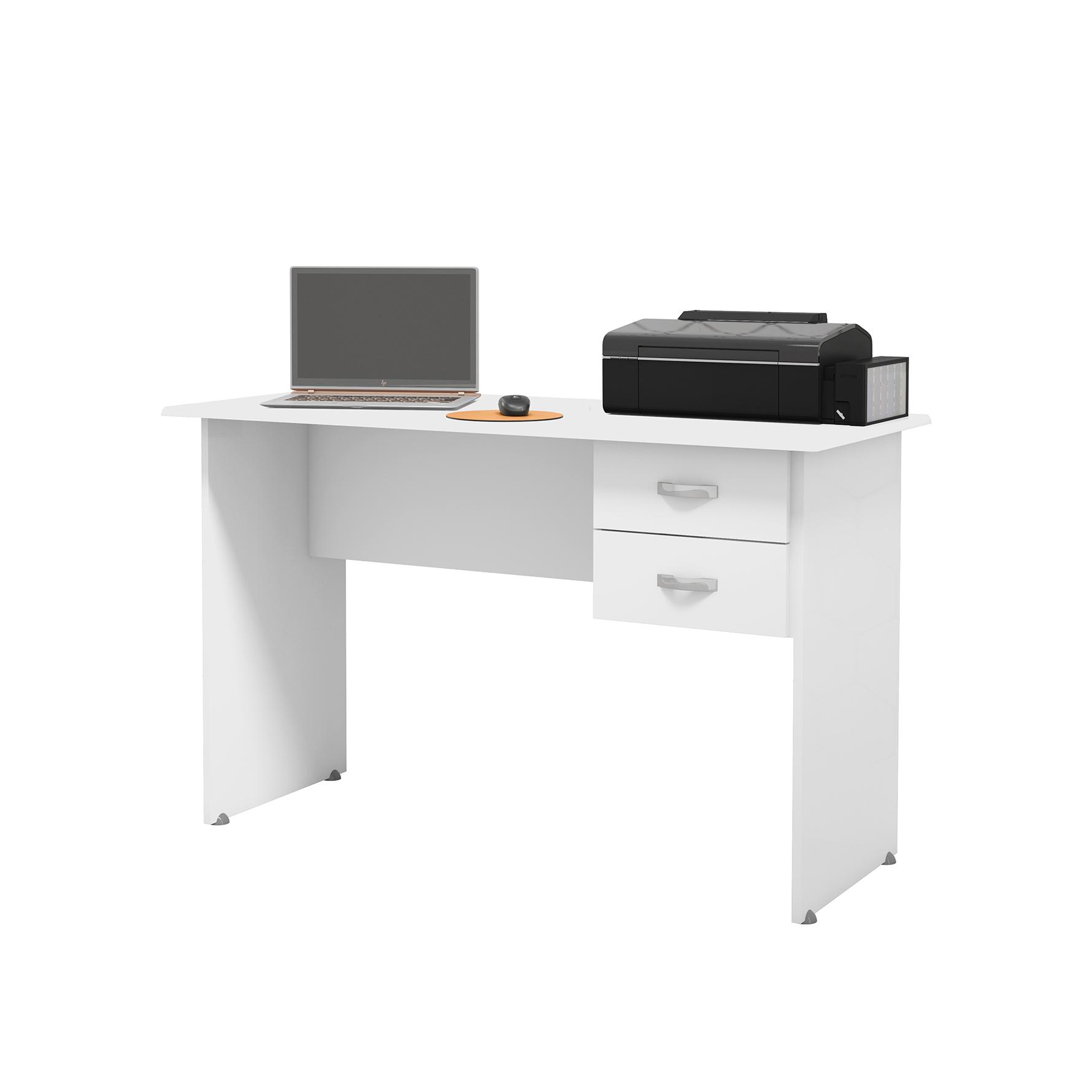 Escrivaninha Master Branco -  EJ Móveis