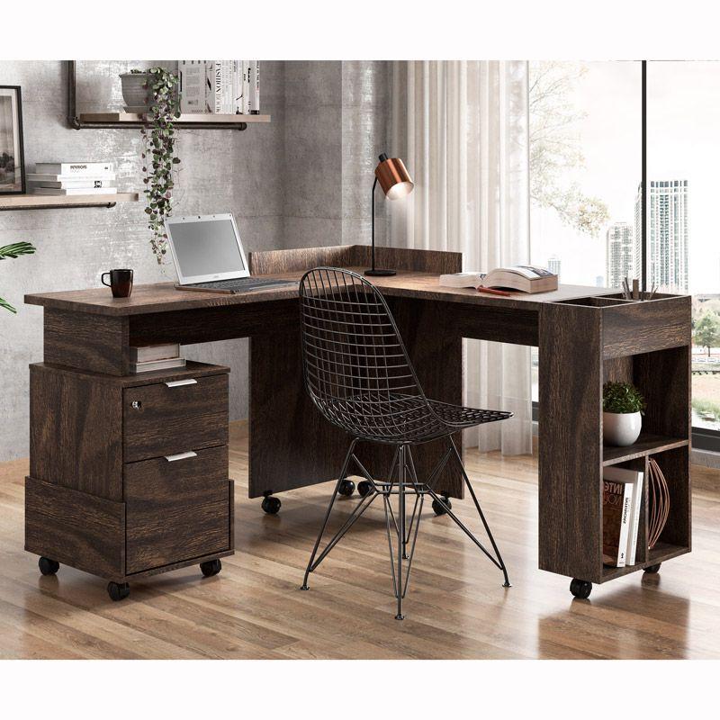 Escrivaninha/Office em L Alessa Noce