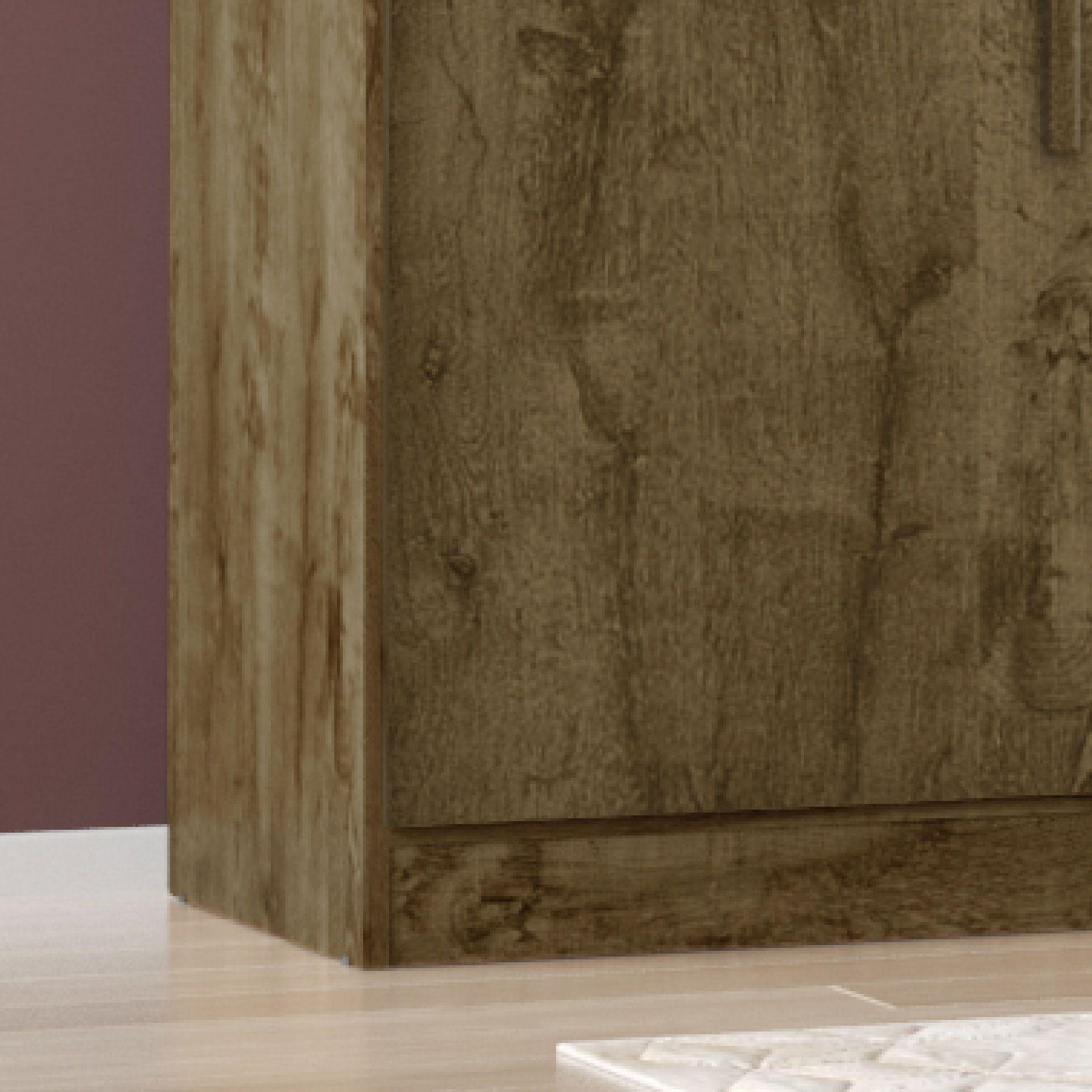 Guarda Roupa 6 Portas Evolution V Madeira Rústica / Madeira 3D - Móveis Bechara