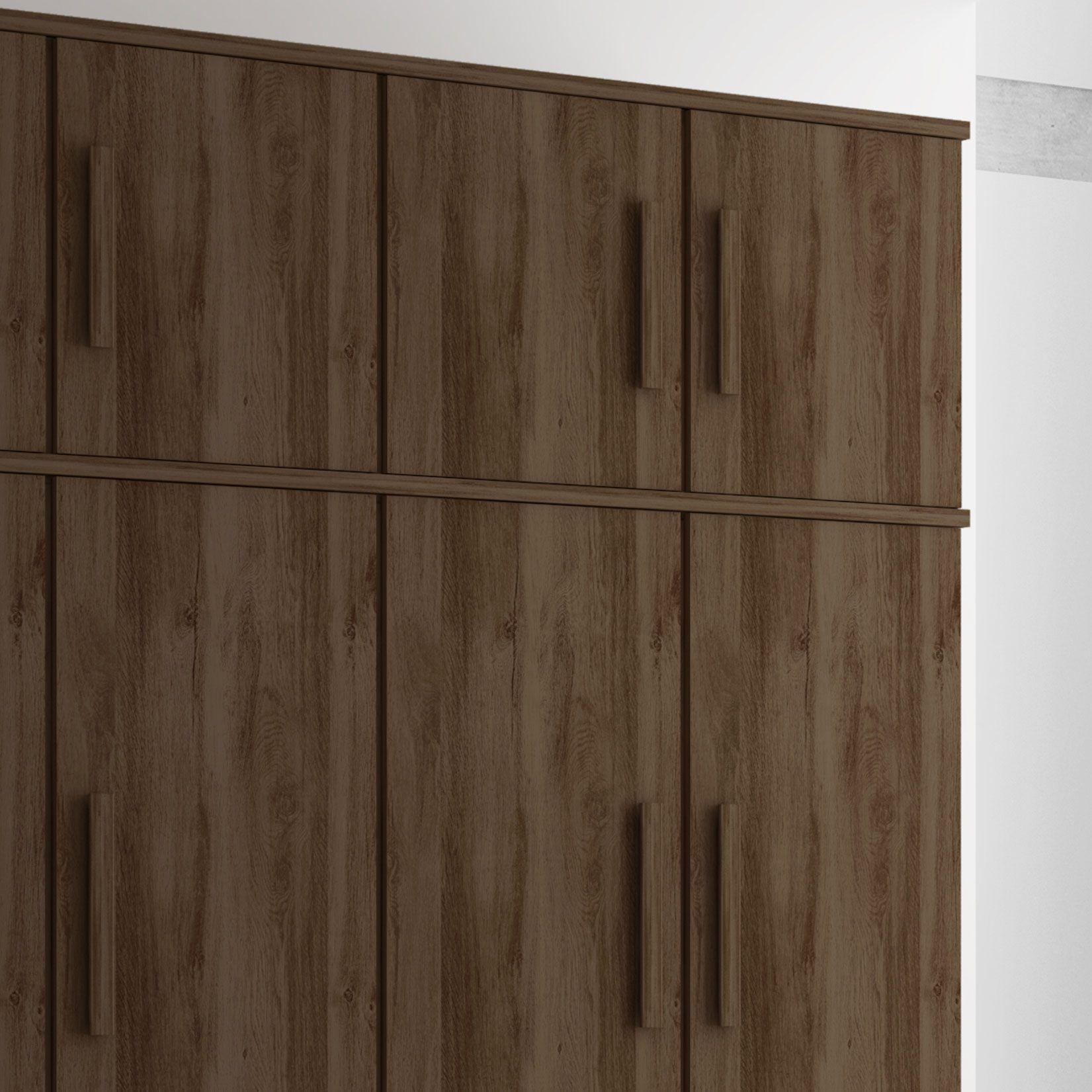 Guarda-Roupa Madri 5 Portas Capucino - Germai Móveis