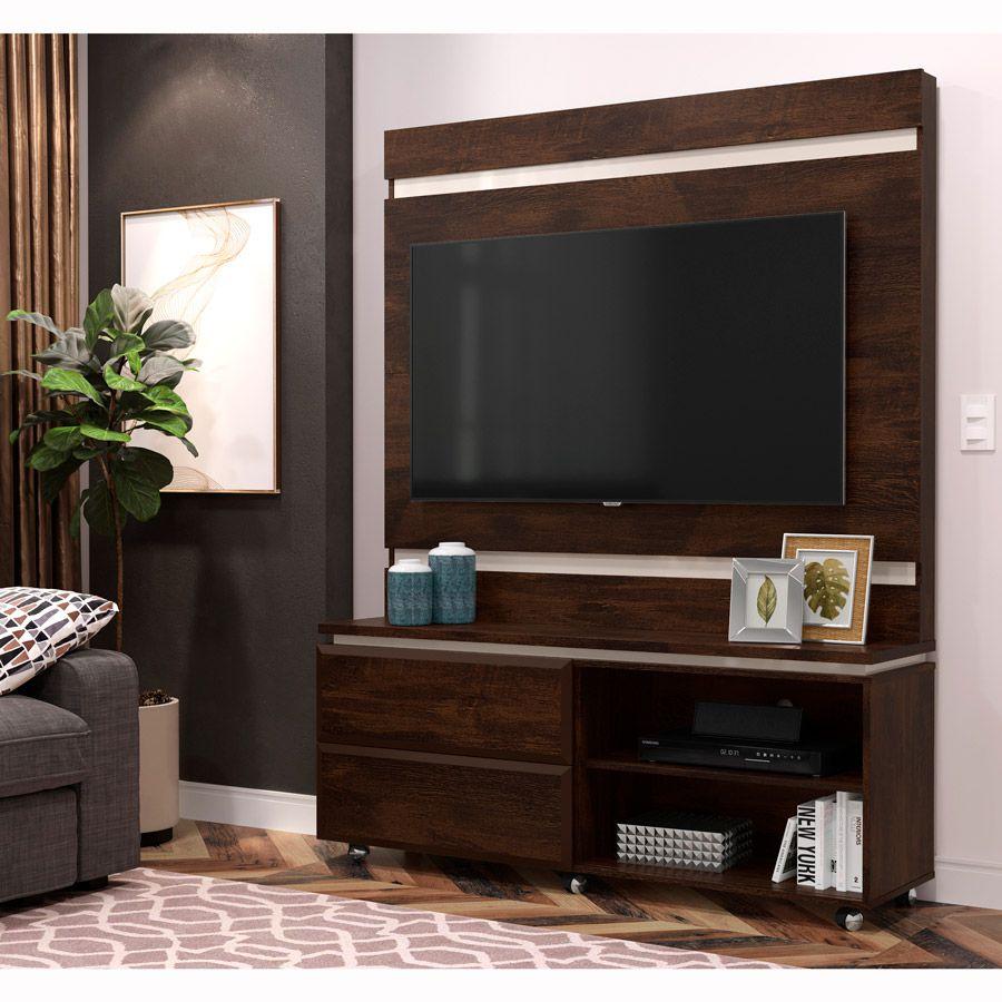 Home Para Tv até 50'' Noce / Off White Allegro
