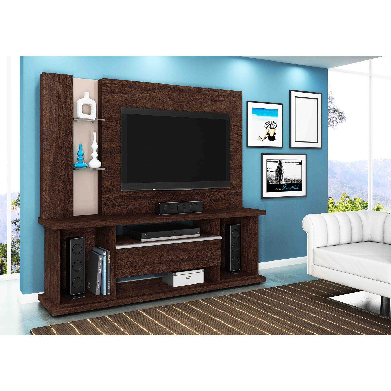 Home Para Tv Até 55 Polegadas Noce / Vanilla Onix