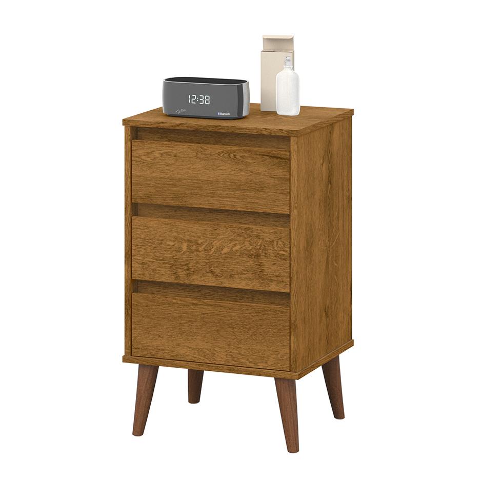 Mesa de Cabeceira Wood Freijó - EJ Móveis