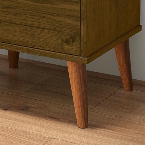 Mesa de Cabeceira Wood Malbec - EJ Móveis