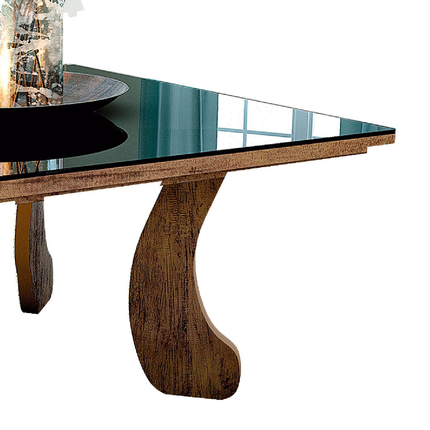 Mesa de Centro Espelhada 8010 Canela