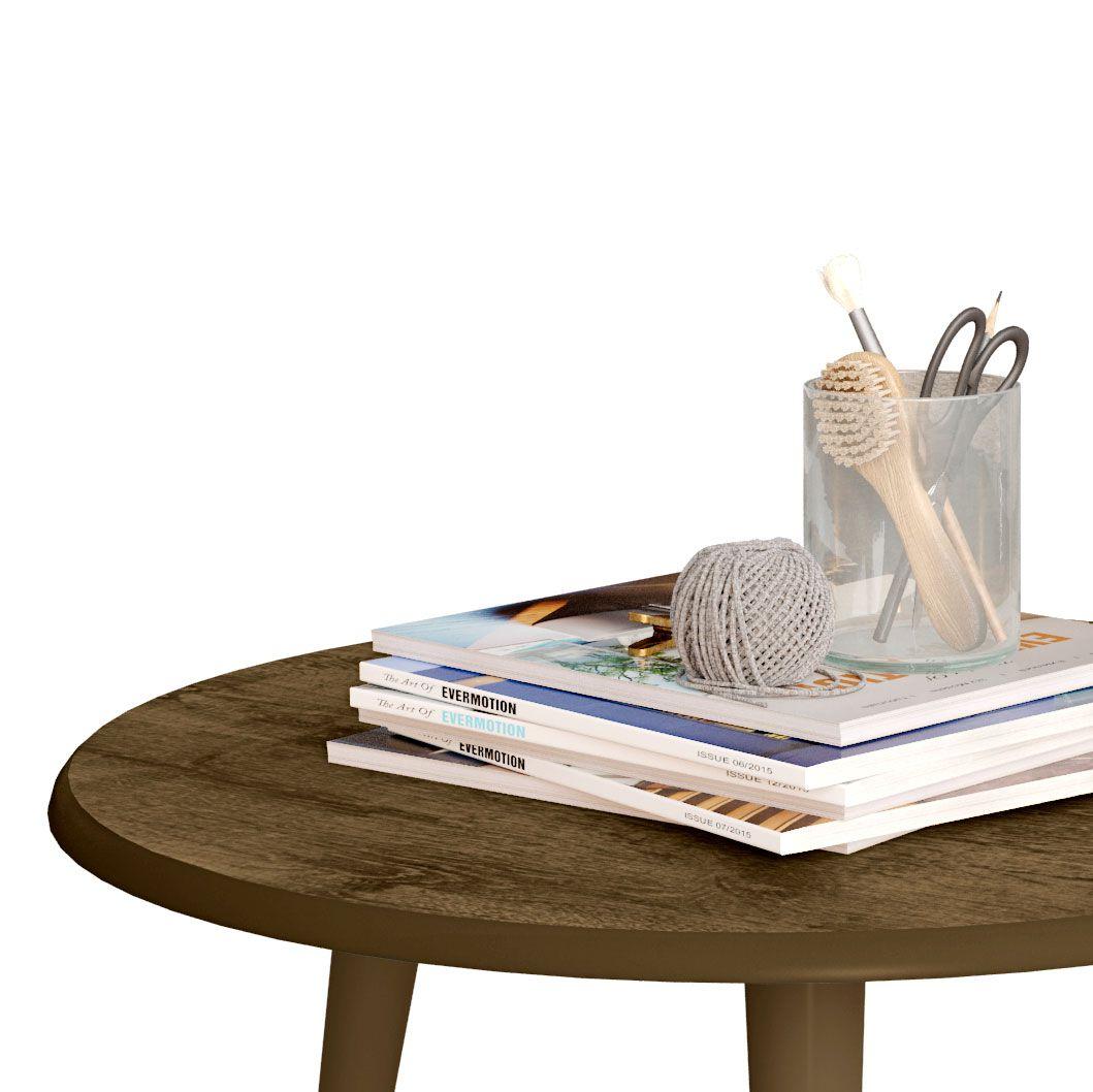 Mesa de Centro Madeira Rústico - Móveis Bechara
