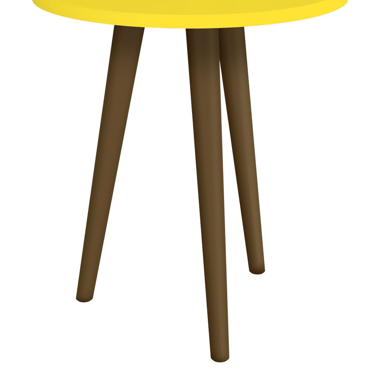 Mesa Lateral Amarelo - Móveis Bechara