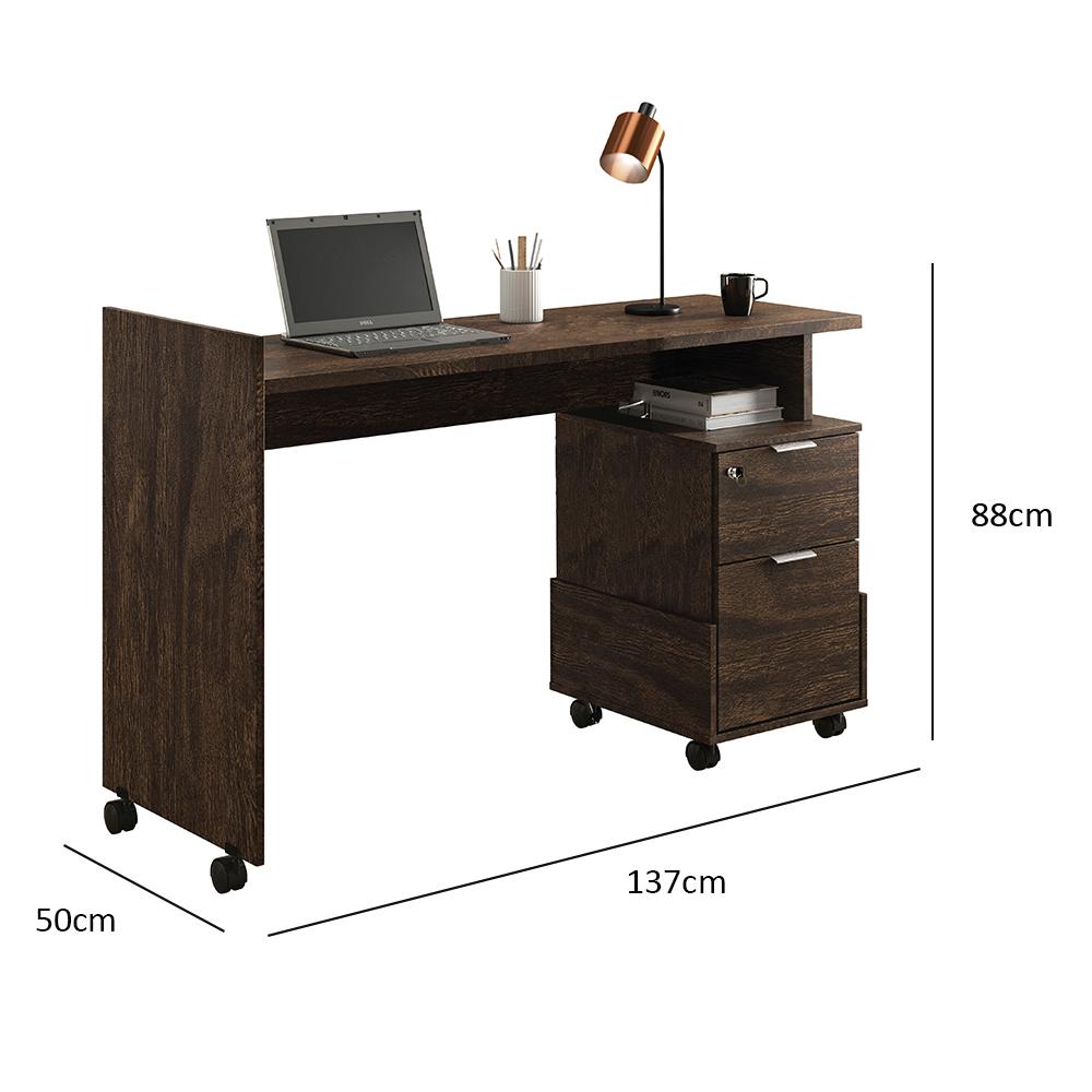 Office Alessa M1 Noce