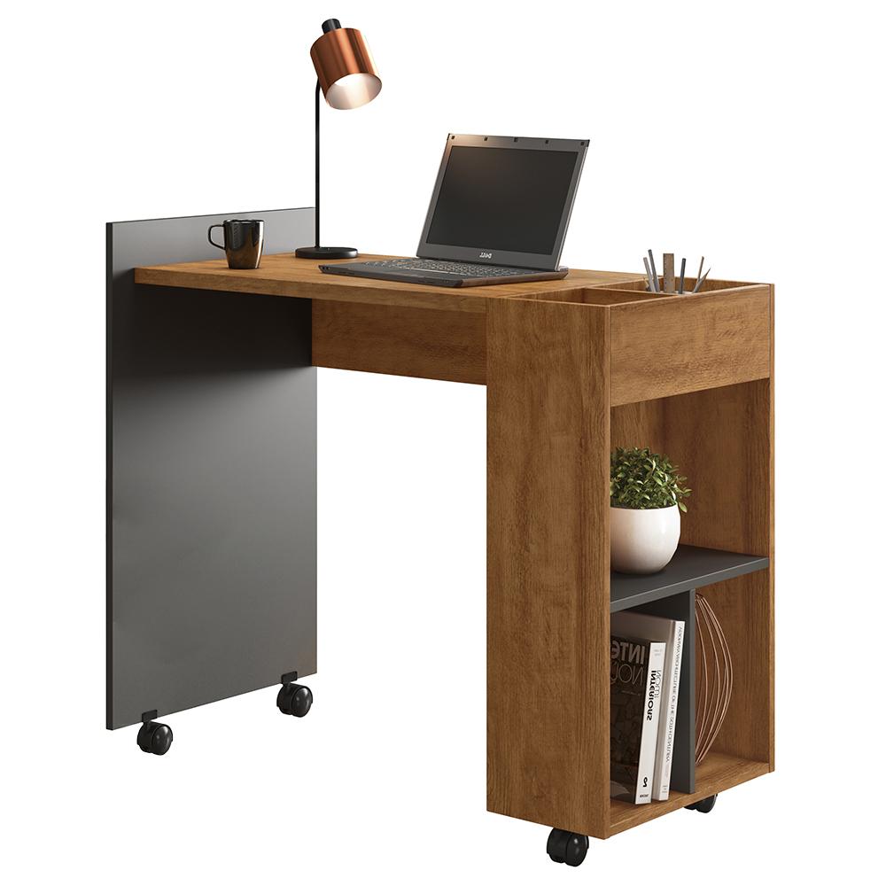 Office Alessa M2 Amêndoa / Chumbo
