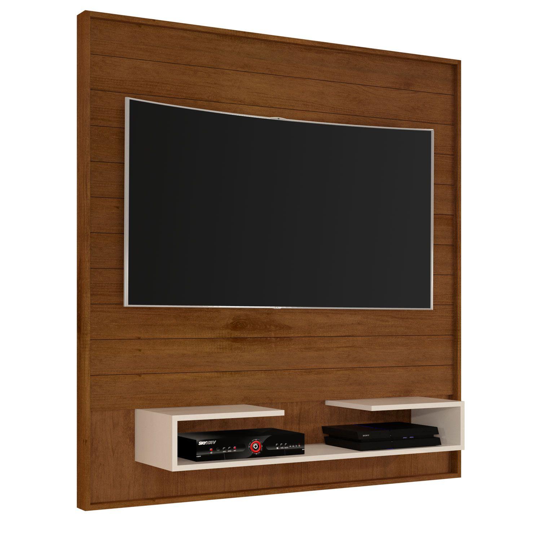 Painel para TV até 50 Polegadas 5045 Caramelo/Pérola