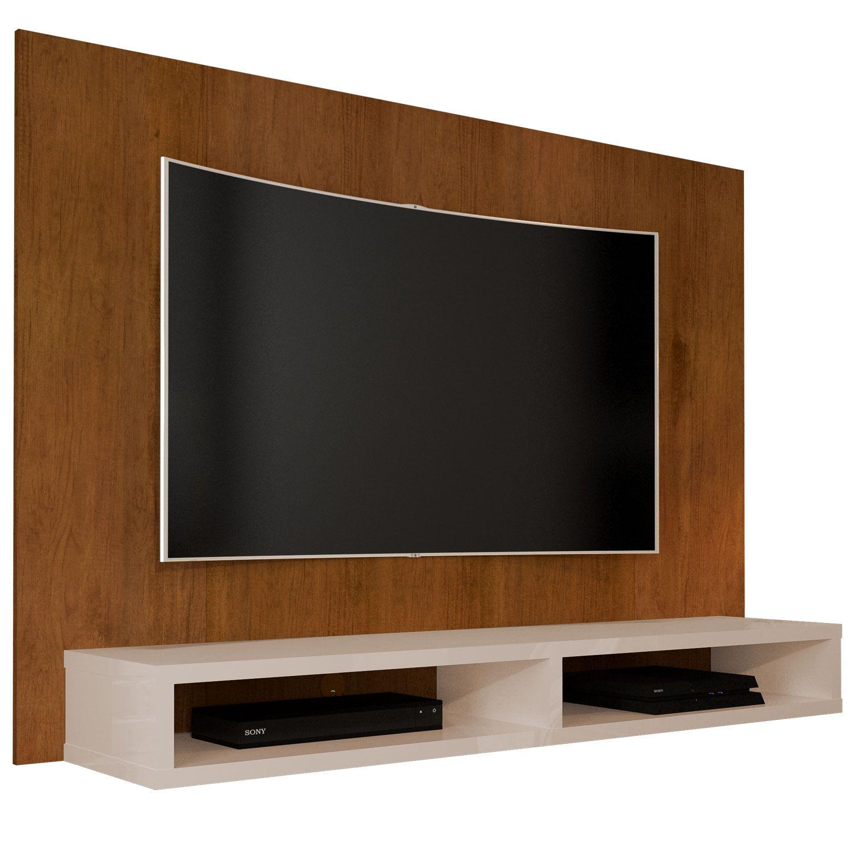 Painel para TV até 55 Polegadas 5006 Caramelo/Pérola