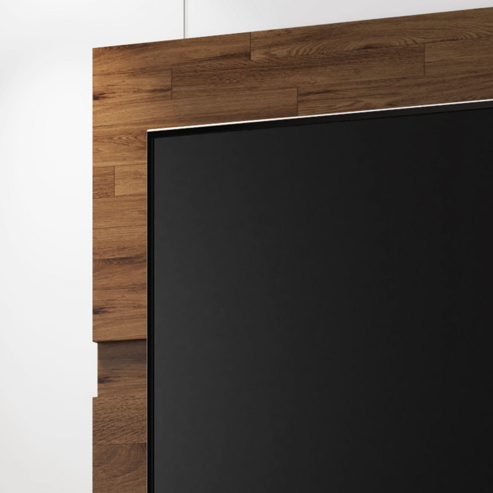 Rack com Painel Fênix Rustic - Germai Móveis