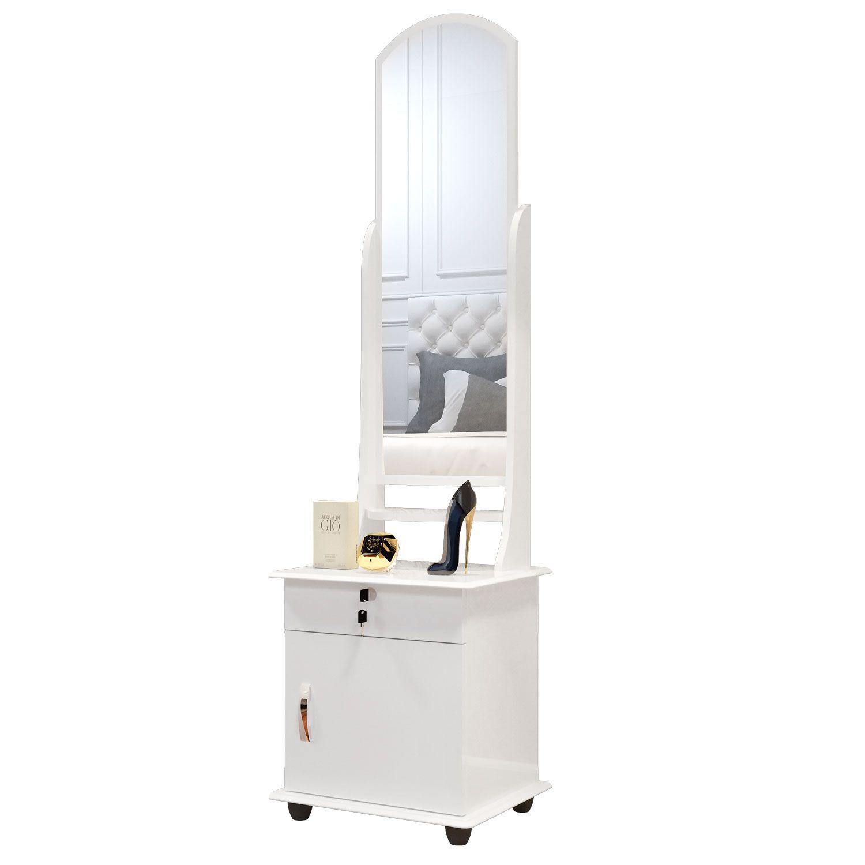 Toucador com Espelho 7000 Branco