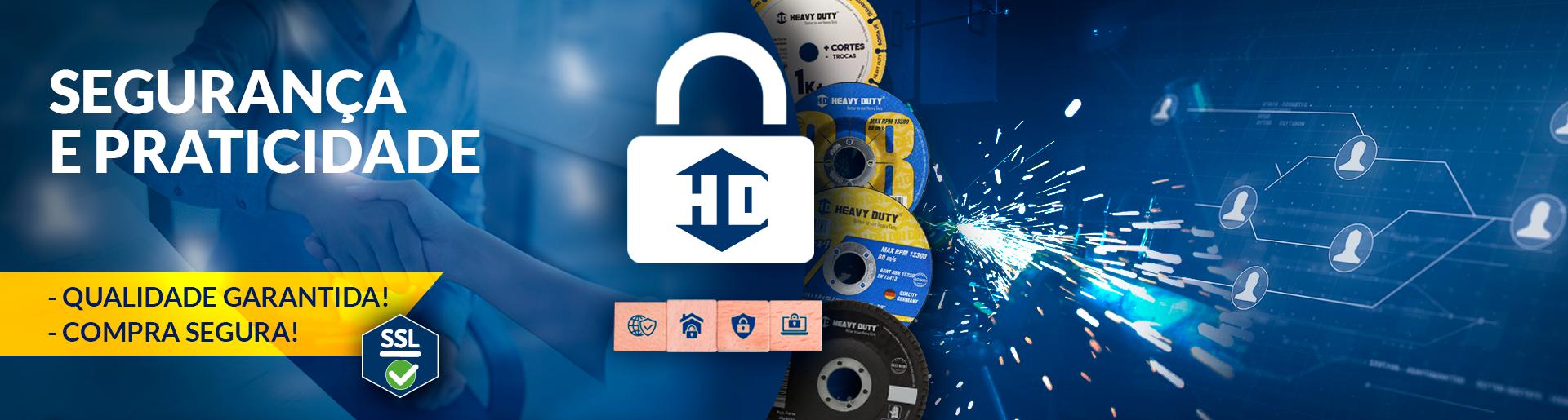 Compre sem medo! Loja oficial Heavy Duty! Proteção SSL!