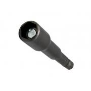 Ponteira Bits Canhão Magnética 5/16X45 MM - 5 PÇS