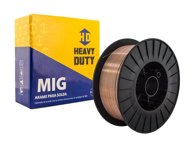 Arame de Solda MIG 1,00 MM - 15 KG